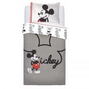 Mickey Mouse Jersey Single Bettbezug