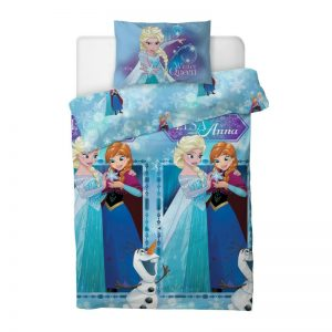 Disney Frozen Winter Queen Enkelt dynetrekk foran