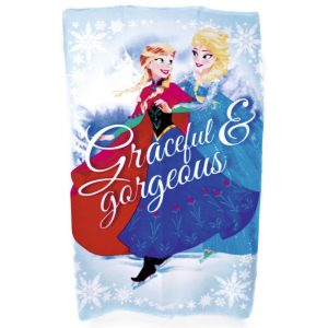 Disney Frozen Graceful And Gorgeous Fleece Teppe