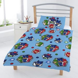 PJ Masks Badges Junior Duvet Cover