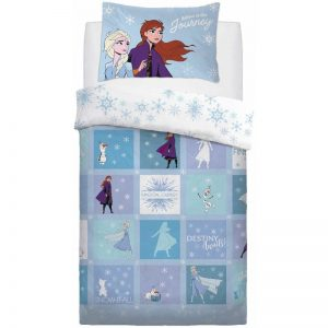 Disney Frozen 2 Patchwork Single Duvet Cover Front