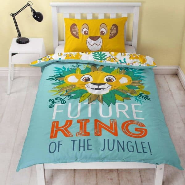 Disney Lion King Hakuna Single Duvet Cover Front