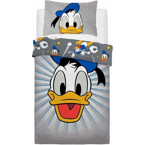 Donald Duck Graphic Donald Single Duvet Cover Front
