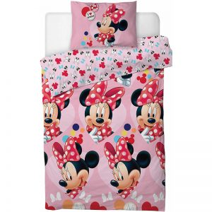 Minnie Mouse I Love Single Duvet Cover