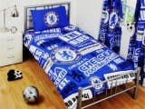 Chelsea FC Patch Single Duvet Cover