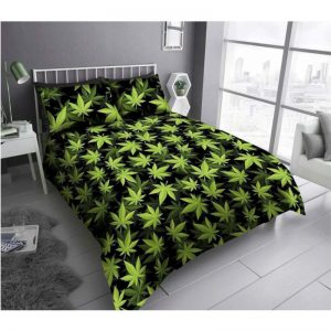 GC Leaf Duvet Cover Black Green