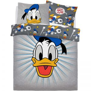 Donald Duck Graphic Donald Double Duvet Cover Front