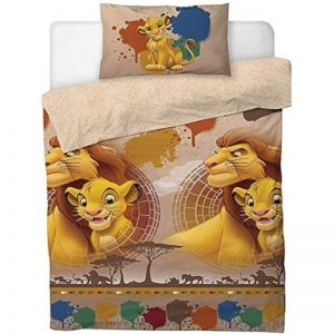 Funda nórdica Disney Lion King Simba y Mufasa Single