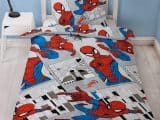 Spiderman Flight Single Duvet Cover
