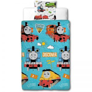 Thomas And Friends Ride On Single Duvet Cover Front