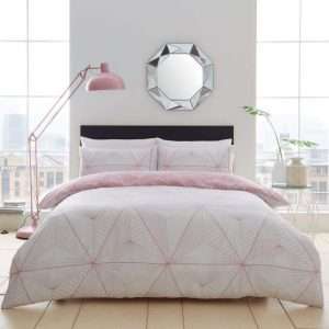 Zander Duvet Cover Blush