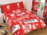 Liverpool FC Patch Double Duvet Cover