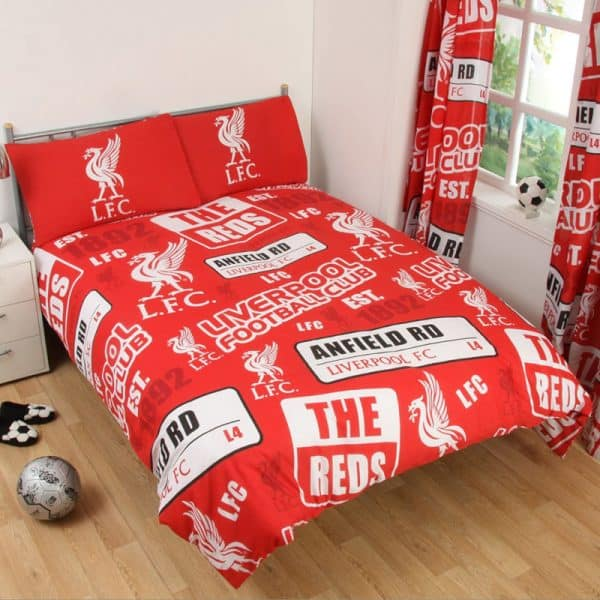 Liverpool Patch Double Duvet Cover