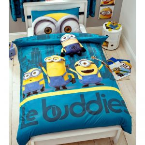 Despicable Me 3 Minions Le Buddies Single Duvet Cover