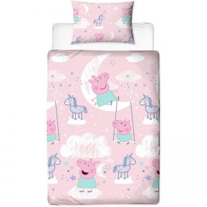 Peppa Pig Stardust Single Duvet Cover Front