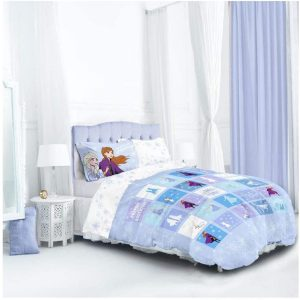 Disney Frozen 2 Patchwork Double Duvet Cover Front