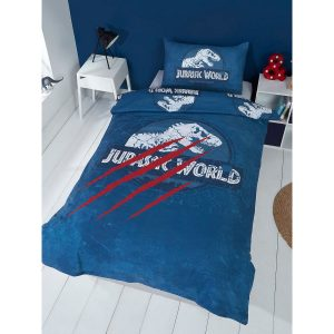 Jurassic World Claws Single Duvet Cover Front