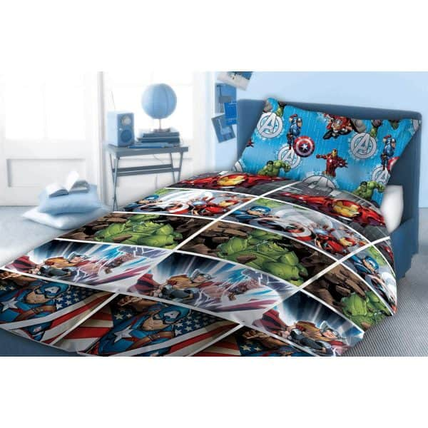 Marvel Avengers 060 Single Duvet Cover