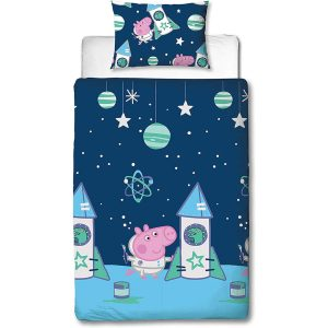 Peppa Pig George Pig Boom Single Duvet Cover Front