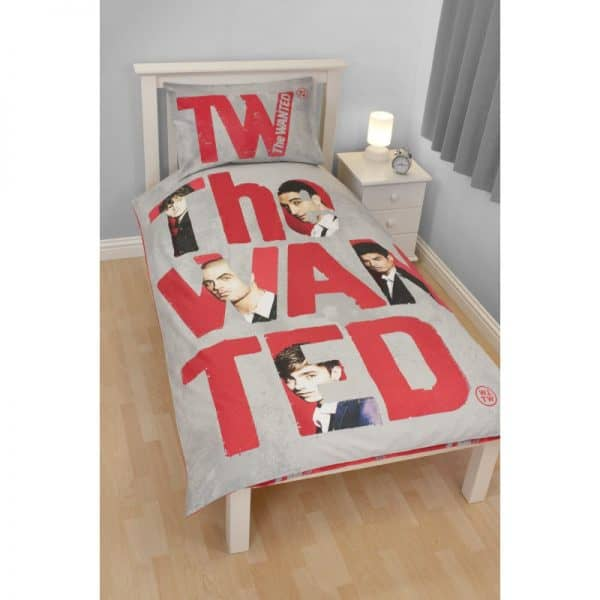 The Wanted Forever Single Duvet Cover Set Polycotton