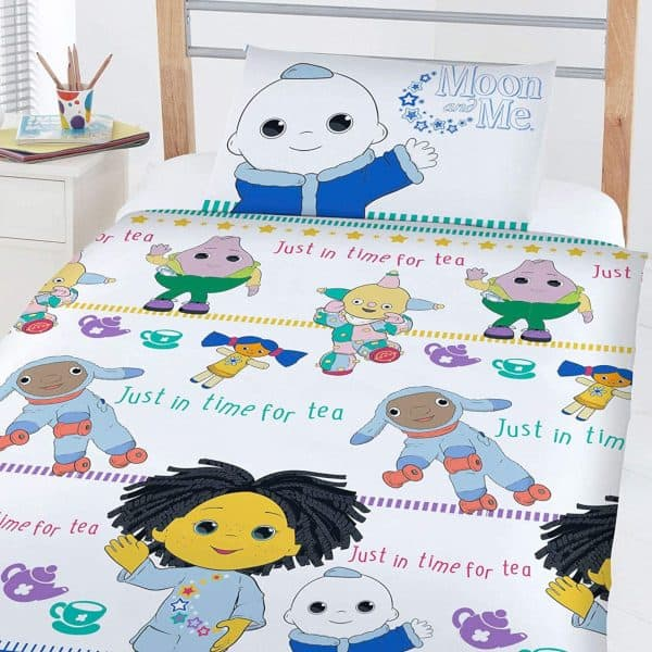 Moon And Me Junior Duvet Cover Detail