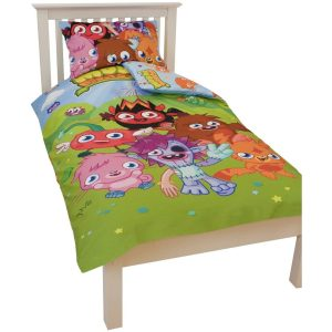 Moshi Monsters Monsters Enkelt dynebetræk Polycotton Front