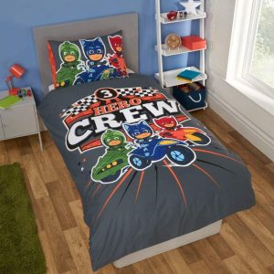 PJ Masks Hero Crew Single Duvet Cover Front