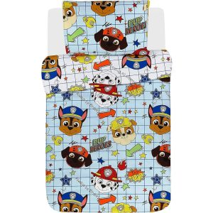 Paw Patrol Blueprint Junior Duvet Cover Front