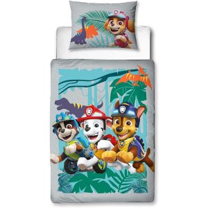 Copripiumino Paw Patrol Mighty (Dino) Junior