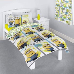 Shows The Despicable Me Minions Bundle Single Duvet Cover
