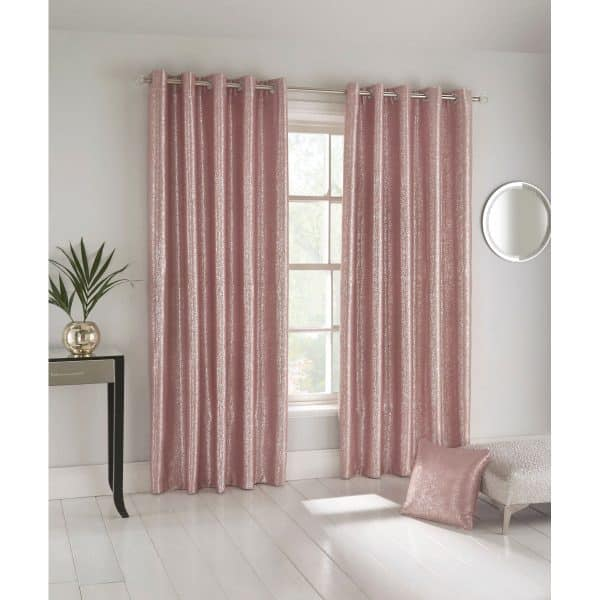 Halo Curtains Pink
