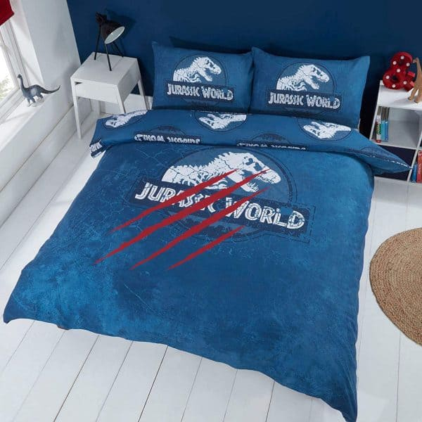 Front Of The Jurassic World Claws Double Duvet Cover