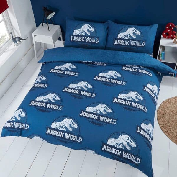 Reverse Of The Jurassic World Claws Double Duvet Cover
