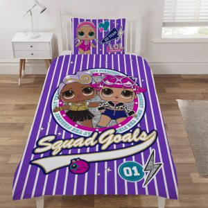 Shows The LOL Surprise Sparkle Single Duvet Cover