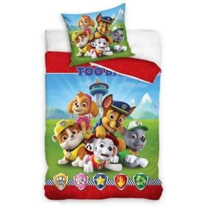 Paw Patrol Single Bettbezug Baumwolle