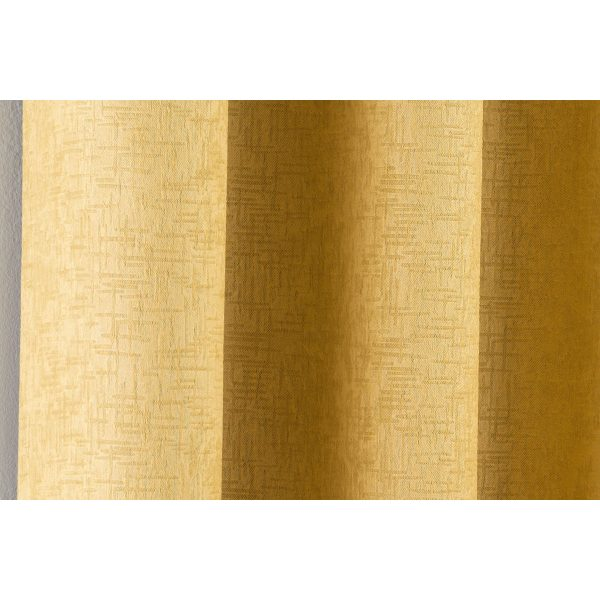 Vogue Curtains Ocher Close Up