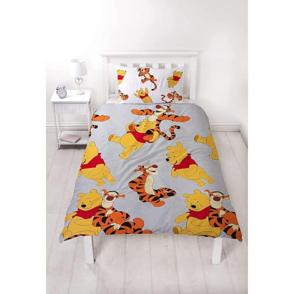 Shows The Winnie The Pooh Friends Single Duvet Cover Front